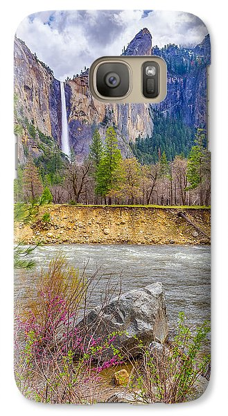 Galaxy Case featuring the photograph Bridalveil Fall  by Scott McGuire
