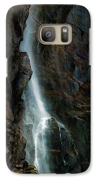 Galaxy Case featuring the photograph Bridalveil Falls In Autumn by Bill Gallagher