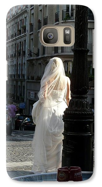 Galaxy Case featuring the photograph Bride Of Paris by Rdr Creative