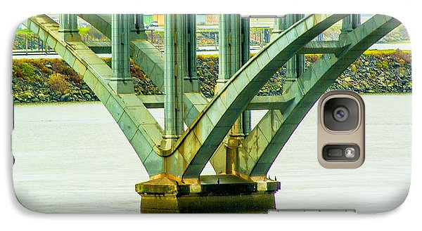 Galaxy Case featuring the photograph Bridge At Gold Beach by Dale Stillman