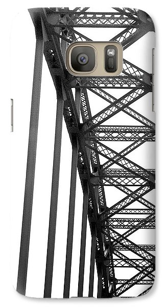 Galaxy Case featuring the photograph Bridge by Brian Jones