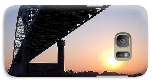 Bridge Over Mississippi River Galaxy S7 Case