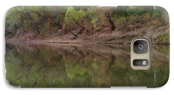 Galaxy Case featuring the photograph Bridge Frame by Betty Northcutt
