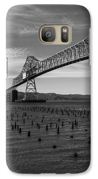 Galaxy Case featuring the photograph Bridge Over Columbia by Jeff Kolker