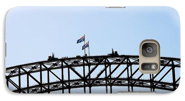 Galaxy Case featuring the photograph Bridge Walk by Stephen Mitchell