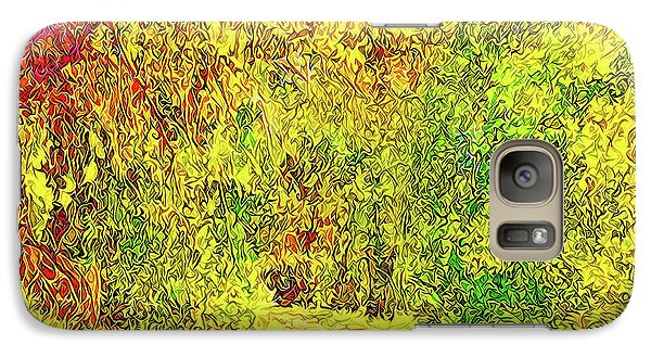 Galaxy Case featuring the digital art Bright Afternoon Pathway - Trail In Santa Monica Mountains by Joel Bruce Wallach