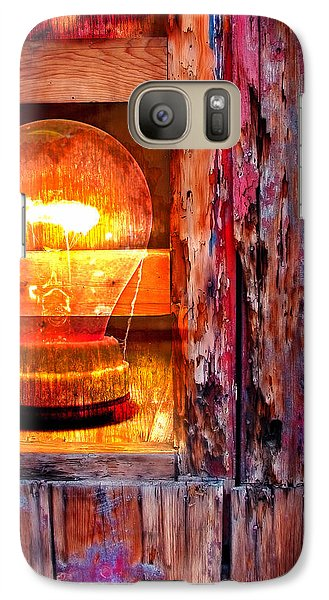 Galaxy Case featuring the photograph Bright Idea by Skip Hunt