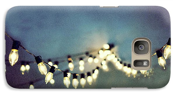 Galaxy Case featuring the photograph Bright Lights by Rebecca Cozart