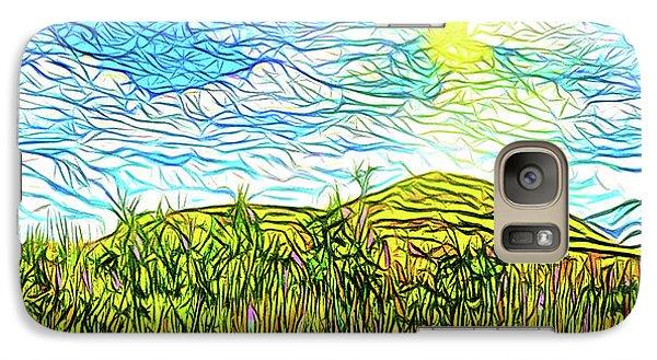Bright Sky Summer - Field In Boulder County Colorado Galaxy S7 Case