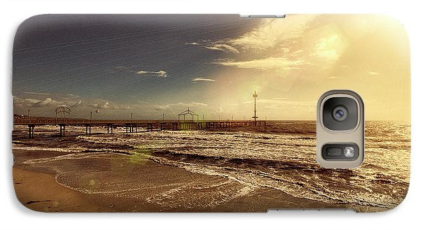 Galaxy Case featuring the photograph Brighton Beach Pier by Douglas Barnard
