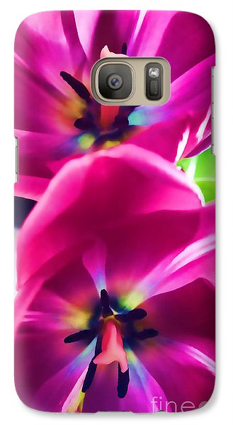 Galaxy Case featuring the photograph Brilliance by Roberta Byram