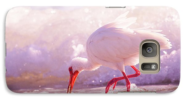 Ibis Galaxy S7 Case - Brilliant Beauty Cortez Beach by Betsy Knapp