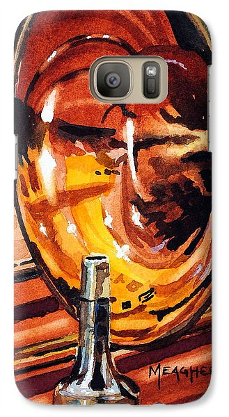 Trombone Galaxy S7 Case - Brilliant Brass by Spencer Meagher