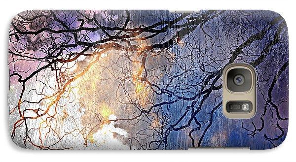 Galaxy Case featuring the photograph Brilliant Rain by Gray  Artus