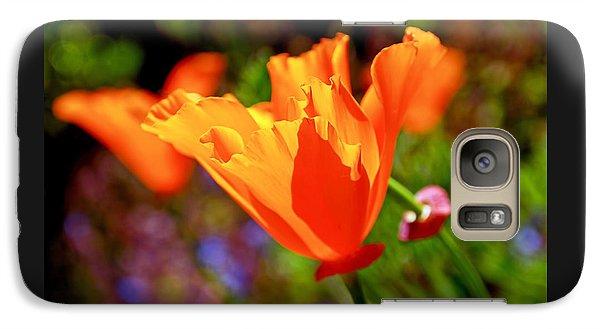 Brilliant Spring Poppies Galaxy S7 Case