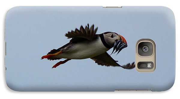 Galaxy Case featuring the photograph Bringing Home The Dinner by David Grant