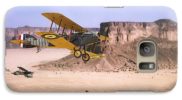 Galaxy Case featuring the photograph Bristol Fighter - Aden Protectorate  by Pat Speirs