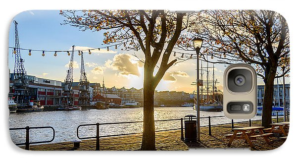 Galaxy Case featuring the photograph Bristol Harbour by Colin Rayner