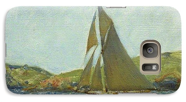 Galaxy Case featuring the painting Britannia by Henry Scott Tuke