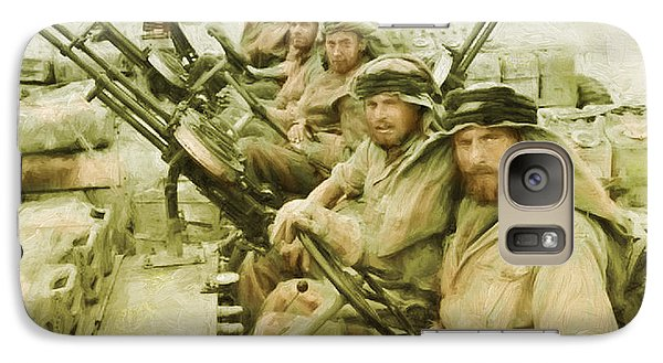 Galaxy Case featuring the painting British Sas by Michael Cleere