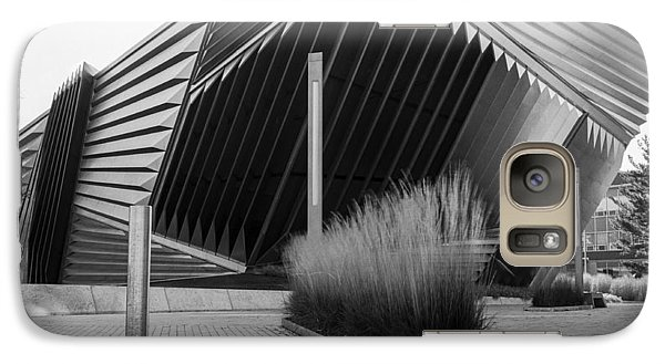 Galaxy Case featuring the photograph Broad Art Museum by Larry Carr