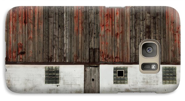 Galaxy Case featuring the photograph Broad Side Of A Barn by Julie Hamilton
