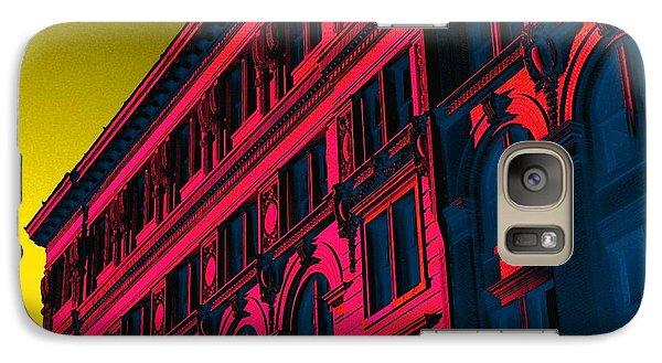 Broadway 118 In Fuschia Galaxy Case by Edgar Farrera
