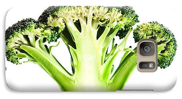 Broccoli Cutaway On White Galaxy S7 Case