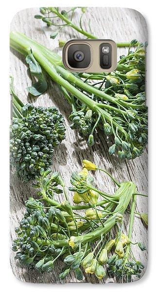 Broccoli Florets Galaxy Case by Elena Elisseeva