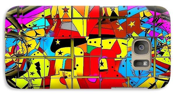 Galaxy Case featuring the digital art Broken Castle By Nico Bielow by Nico Bielow