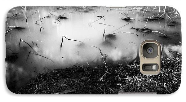 Galaxy Case featuring the photograph Broken by Hayato Matsumoto