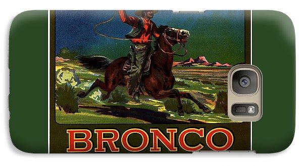 Galaxy Case featuring the digital art Bronco Redlands California by Peter Gumaer Ogden