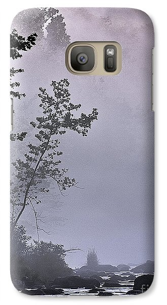 Galaxy Case featuring the photograph Brooding River by Tom Cameron