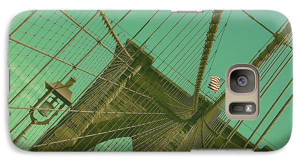 Galaxy Case featuring the photograph Brooklyn Bridge by Louise Fahy