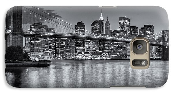 Brooklyn Bridge Twilight II Galaxy S7 Case