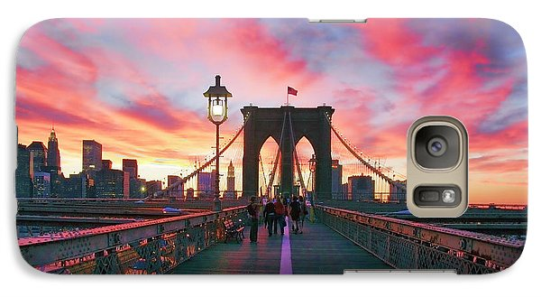 Landscapes Galaxy S7 Case - Brooklyn Sunset by Rick Berk