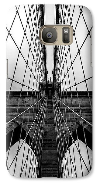 Brooklyn's Web Galaxy S7 Case by Az Jackson