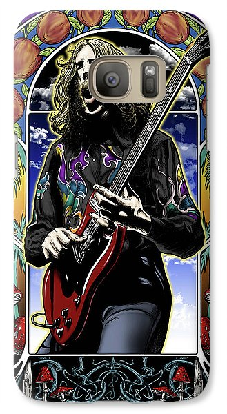 Eric Clapton Galaxy S7 Case - Brother Duane by Gary Kroman