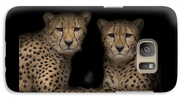 Galaxy Case featuring the photograph Brothers by Cheri McEachin