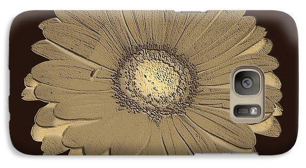 Galaxy Case featuring the digital art Brown Art by Milena Ilieva