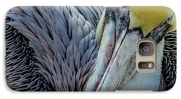 Galaxy Case featuring the photograph Brown Pelican by Bill Gallagher