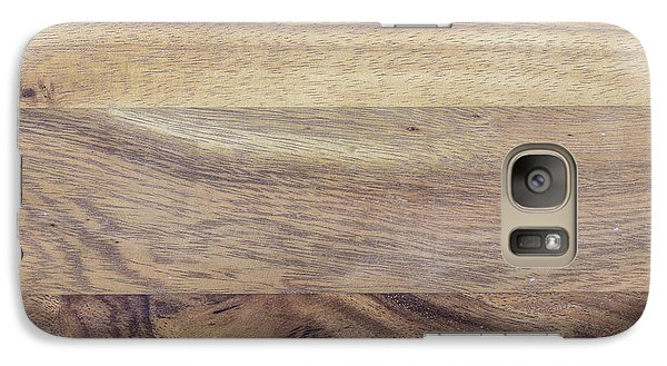 Galaxy Case featuring the photograph Brown Rubber Wooden Tray Handmade In Asia by Jingjits Photography