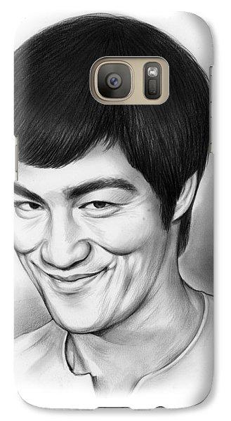 Bruce Lee Galaxy S7 Case by Greg Joens