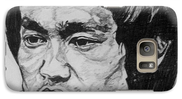 Galaxy S7 Case - Bruce Lee by Rachel Natalie Rawlins
