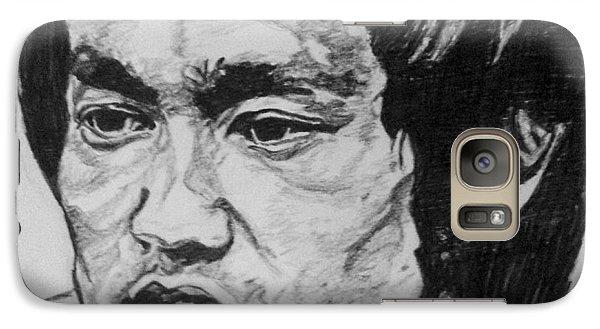 Bruce Lee Galaxy S7 Case by Rachel Natalie Rawlins