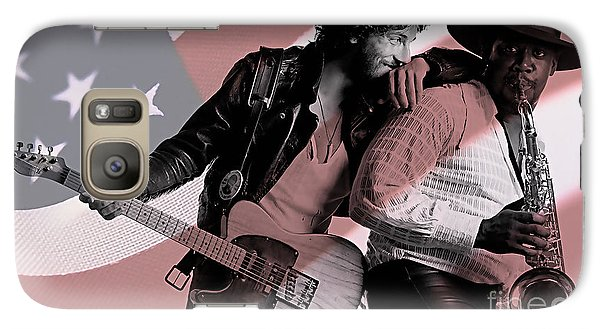 Bruce Springsteen Clarence Clemons Galaxy S7 Case
