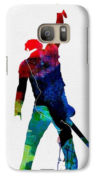 Bruce Watercolor Galaxy S7 Case