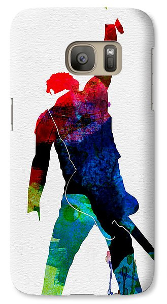 Musicians Galaxy S7 Case - Bruce Watercolor by Naxart Studio