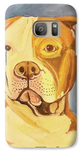 Galaxy Case featuring the painting Bruiser by John Keaton