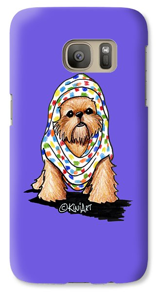 Brussels Griffon Beauty Galaxy Case by Kim Niles